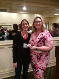 Attagirl Winner Shoshana Brown (l), pictured with Tameri Etherton.