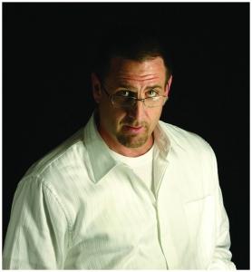 Joel white shirt
