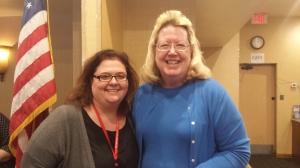 HelenKay Dimon (l.) and Christine Locksy